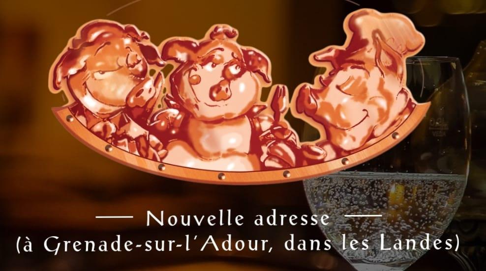 Aux trois petits cochons - Grenade-sur-l'Adour